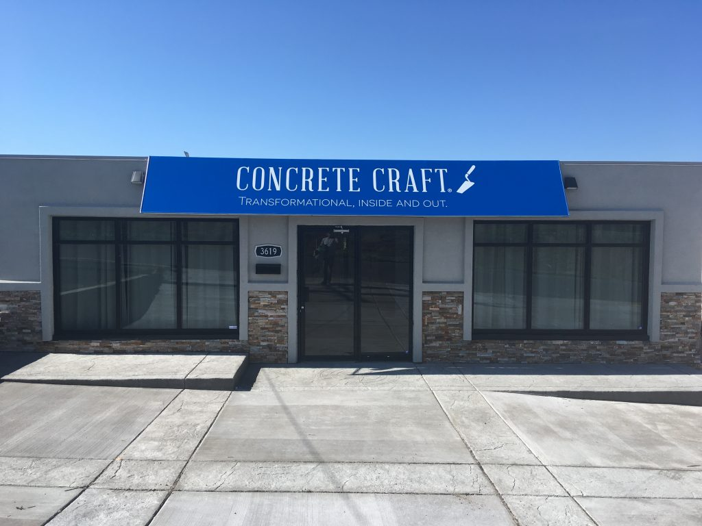 Concrete Craft building